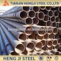 Tubo de acero soldado (tubo de acero ERW) Tubo de acero de bajo carbono para la construcción