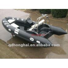 rigide CE rib480 en fibre de verre avec bateau gonflable pvc ou hypalon