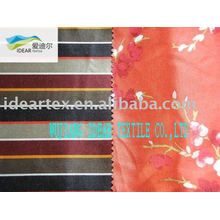 Faux Silk Printed Satin Matt for lady dress
