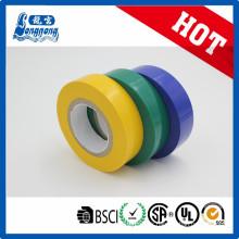 Ruban d'isolation électrique en PVC brillant de la meilleure qualité