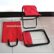Chaise de pêche de pliage pour les loisirs en plein air