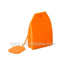 2014 silicone new design tea strainer