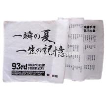 Las letras por encargo imprimieron el pañuelo largo del algodón