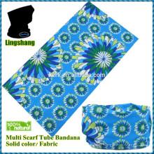 Atacado cachecol impresso cachecol e bandana headwear multifunções sem costura
