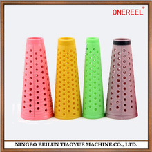 Cone-shape Spinning Spare Plastic Bobbin