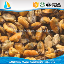 high quality half shell mussel frozen