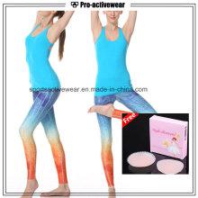 Girl Running Wear Stringer Gym Plain Tank Top pour les femmes