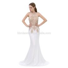 2017 Best Selling Fashion Prom Longo Formal a linha de comprimento do assoalho Sexy Mulher Vestido