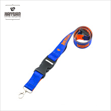 Memorable Heat Transfer Imprinted Custom Polyester Tide Lanyards