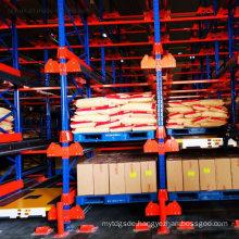 Popular in Industry Factory Warehouse Storage Q235 Radio Shuttle Rack