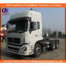 Heavy Duty 6X4 375HP Dongfeng Caminhão Tractor Prime Mover para Venda