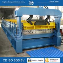Wellblech-Kaltrollenformmaschine
