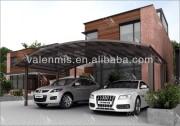 European style outdoor carport aluminium car canopy/garage
