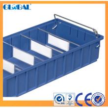 Escaninhos de múltiplos propósitos plásticos dos PP / escaninhos de armazenamento claros do dever para a indústria logística