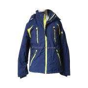 Unisex ski jacket/snow coats with detachable hood