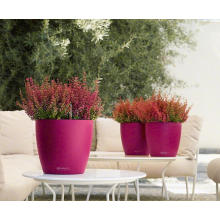 (BC-F1047) Fashionable Design Plastic Self-Watering Flower Pot