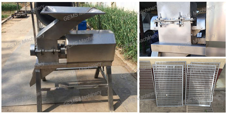 Apple crusher machine
