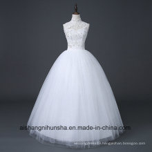 Chinese Simple Halter Wedding Dress of Princess Wedding Dress