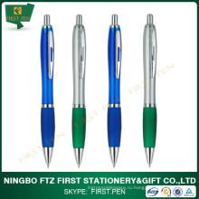 Дешевая бесплатная пластиковая рекламная ручка