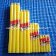 Paraffin Wachs Material verschiedene Arten von Farbe Kerze Säule Wachs