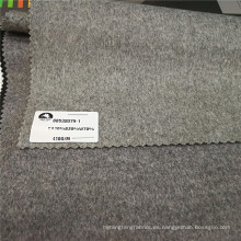 Tela de lana de terciopelo corte de lana de cachemira de seda largo de lana de lana abrigos telas