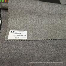 Soie Cachemire laine coupe velours laine tissu Mesdames laine longue hiver manteaux tissus