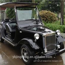 Carro clássico do vintage branco elétrico de 4 passageiros para a venda