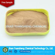 Sel concret de sodium de Superplasticizer de formaldéhyde de sulfonate de naphtalène