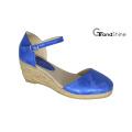 Sandales à talons en espadrille à la mode féminine
