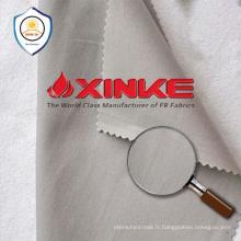 tissu tricoté de protection de polyester d'uv de polyester pour le vêtement de vêtements de travail