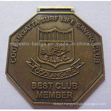 Customized Antique Bronze Medallion