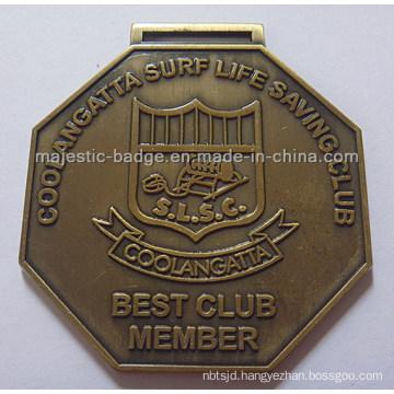 Customized Antique Bronze Medallion
