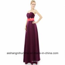 Bridesmaid Dresses Floor Length Long A-Line Sweetheart Wedding Party Dress