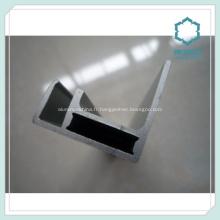Cadre de panneau solaire de profils en aluminium anodisé