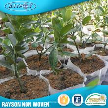 Tela no tejida material de la cubierta de la granja de PP Spunbond / tela no tejida material del bolso de la planta del geotextil