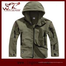 Velo de Coldproof inverno jaquetas casacos de lã de esportes ao ar livre à prova de vento