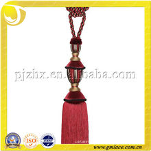 China Suppliers of Polyester Costumers Tassel Tieback for Curtain, Sofa, Bolster