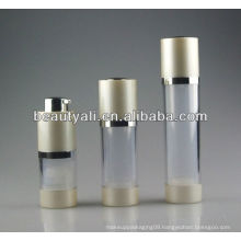 Hot selling 15.30.50ml Rotary cosmetic airless pump bottle plastic airless bottle airless serum bottle
