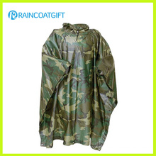 Polyester PVC Camouflage Raincoat (RPE-147)