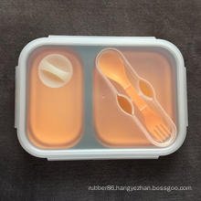 Food grade silicone container bento box