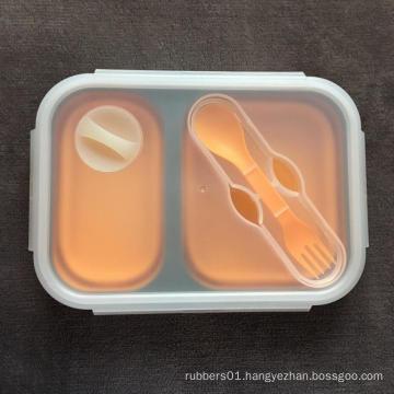 Food grade silicone container bento box