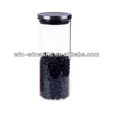 Gros couvercle en métal Hermetic résistant à la chaleur de grands bocaux de stockage en verre