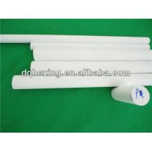 Piezas moldeadas de aislamiento eléctrico de 6 mm a 330 mm blanco / negro mercancías adecuadas a tiempo Turcite-B PTFE / F4 / Teflón Rod / bar / round