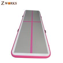 Uso doméstico de alta qualidade tamanho pequeno inflável esteira de ar de ginásio