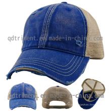 Macaco, lavado, algodão, sarja, malha, camionista, boné, tampão, (TM0858-1)