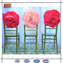 Diferente Cores Disponíveis Elegant Wedding Flower Chair Sash
