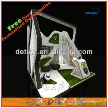 Kundenspezifische modulare dauerhafte Ausstellung Kleidung Display Stand Design Messestand Schaufenster Lieferanten