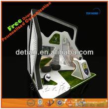 Exposição durável modular feita sob encomenda da mostra do suporte da exposição do projeto da cabine da exposição da roupa da exposição