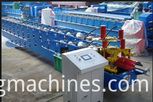 Ridge Cap Roll Forming Machine 01