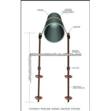 Pipeline Screw Anchors System